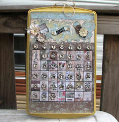 Cookie Sheet Perpetual Calendar