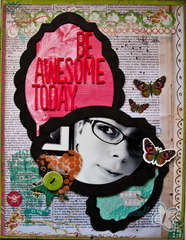 Be Awesome Today *Basically Bare & Pink Paislee*