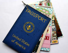 Passport mini book