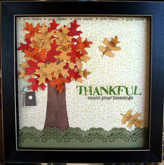Thankful wall-hanging