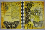 Art Journaling Monochromatic - Maja Design