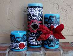 Paper Candle Wraps - Scraps of Darkness