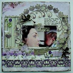 Love at First Sight - Maja Design February Mood Board