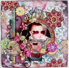 My Little Blur - Scraps of Darkness July kit