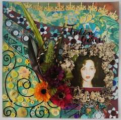 Fading Youth - Scraps of Darkness July kit & Twisted Sketch #111