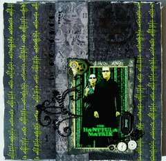the Hanttula Matrix - Scraps of Darkness October Kit & Halloween Blog Hop