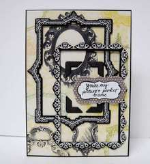 My Picture's Perfect Frame - Twisted Card Sketch #15 with the