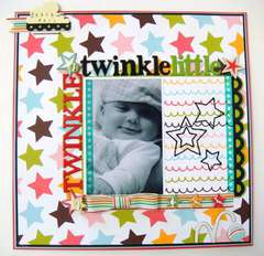 Twinkle Twinkle Little Star - Twisted Sketch #59 with the STAR twist!