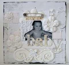 Baby Fresh - Twisted Sketch #86 & Scraps of Darkness
