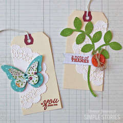 Harvest Lane Gift Tags {Simple Stories}