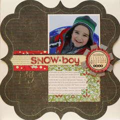 Snow-boy