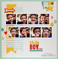 this boy... {Pebbles}