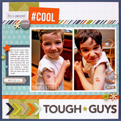 Tough Guys {Simple Stories}