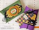 Tricks and Treats Pillow Gift Boxes {Pebbles}