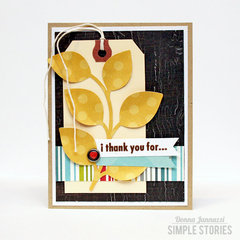 i thank you for... {Simple Stories}