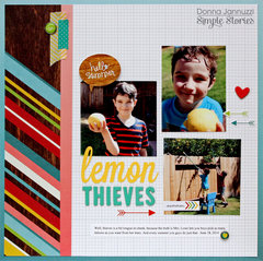 lemon thieves {Simple Stories}