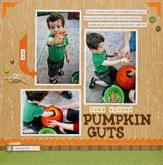 icky sticky pumpkin guts