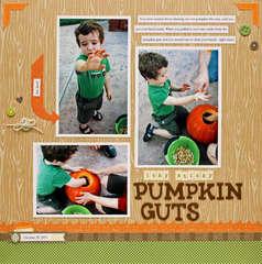 icky sticky pumpkin guts