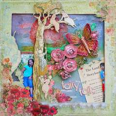 "Fairy Folk-*Scrap That! October ""Bella Rosa"" Kit *"