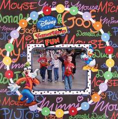 Disney Vacation Fun