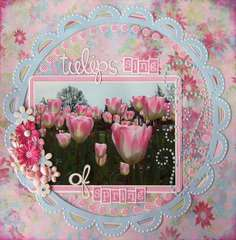 Tulips Sing of Spring