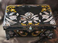 The Victorian Keepsake Treasures Box I made for my Son