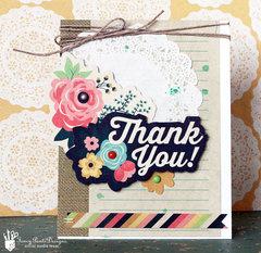 Thank you Card *Fancy Pants
