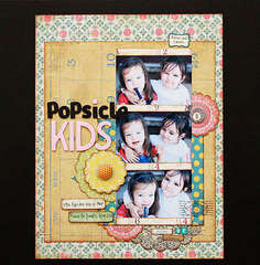 Popsicle Kids*Nook September Kit*Crate Restoration