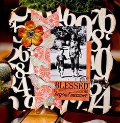 Clear Scraps Layout by Adora