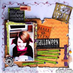 Acrylic Layout by Leah