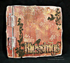 Clear Scraps Cast Acrylic Top Load Album by Rita