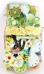 Clear Scraps Acrylic Mini Album
