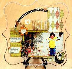 A Walk by Clear Scraps DT Irene