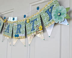 Party Banner by Pinky