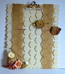 Large Scallop Clipboard by Cristal Hobbs