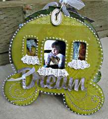 Clear Scraps Acrylic Carriage Album