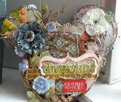 Clear Scraps Acrylic Mouse Album