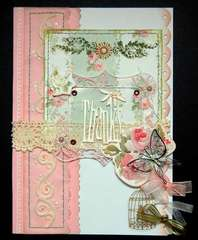 Thanks Card By Clear Scraps DT Irene