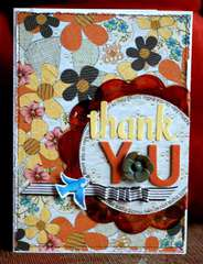 Clear Scraps Acrylic Card