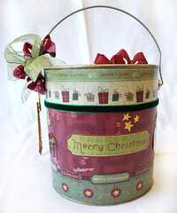 Christmas Lolly Tin