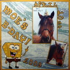 Moe's B-Day