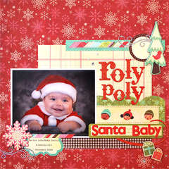 roly poly Santa Baby