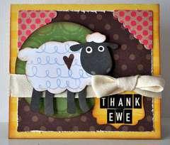 thank ewe card