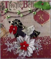 Christmas card for swap