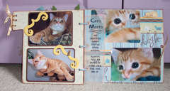 chipboard cat album