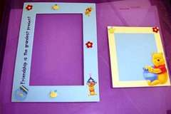Winnie the pooh frame and journal box