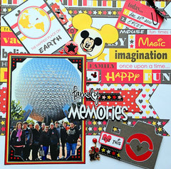 Family Memories at EPCOT