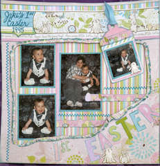 Cotton Tail Easter Layout 2