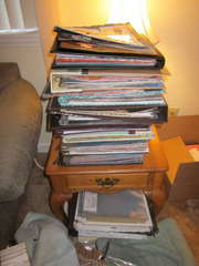 Scrapbooks Storage-BEFORE