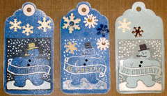 Snowperson Tags for Jan Envie Swap